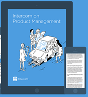 Front cover of ebook intercom on product management