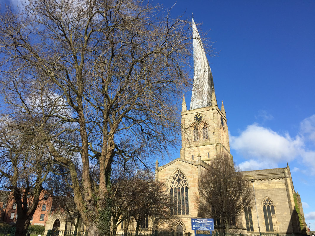 The Crooked Spire Church of St Mary and All Saints Chesterfield UK