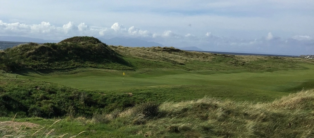 6th green at Royal Troon GC, Open championship, ayrshire, scotland, 2016